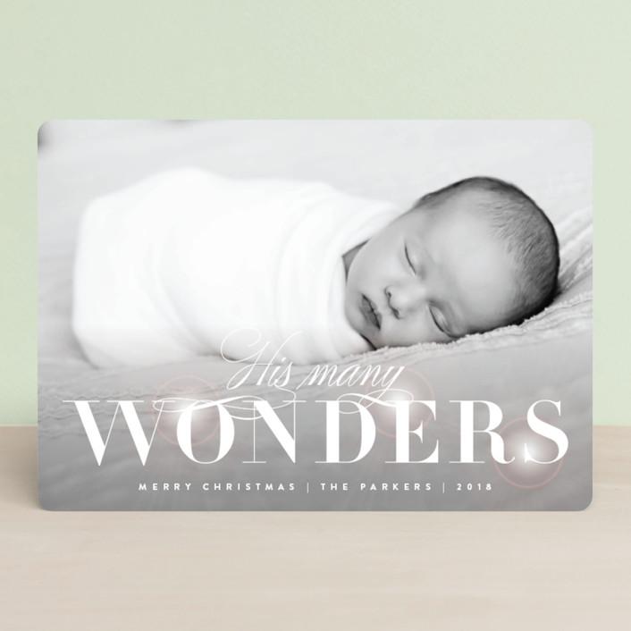 """""""Glowing Wonder"""" - Holiday Petite Cards in Snow by Kristie Kern."""