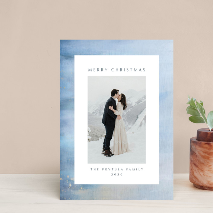 """""""Frosted"""" - Holiday Petite Cards in Sky by Nicole Walsh."""