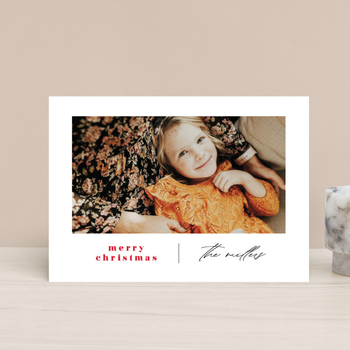 """""""Modern Days"""" - Holiday Petite Cards in Maple Leaf by Ana Sharpe."""