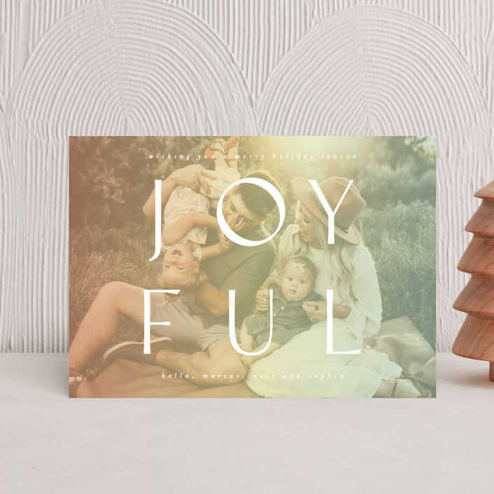 """""""Fully Joyful"""" - Holiday Petite Cards in Sherbet by Ashlee Townsend."""