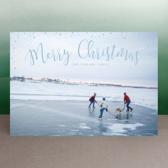 """""""sparkle sparkle"""" - Holiday Petite Cards in Cotton by Erin Deegan."""