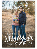 Lettered New Year by Kristen Smith