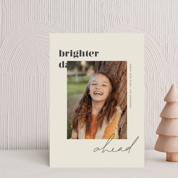 """Brighter Days Ahead"" - Holiday Petite Cards in Mist by seulghi."