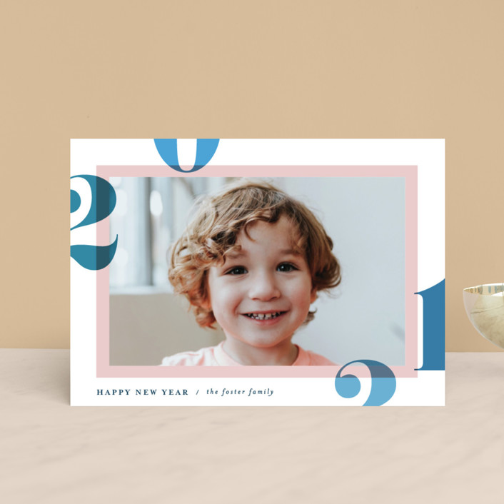 """""""Bright and Bold Year"""" - Holiday Petite Cards in Sunrise by Pixel and Hank."""