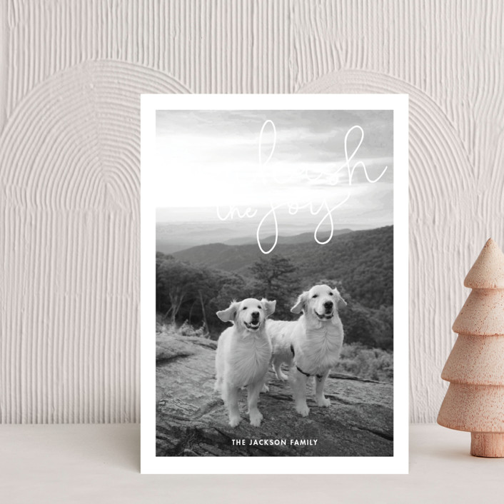 """""""Unleash the Joy"""" - Holiday Petite Cards in Rudolph's Nose by Sandra Picco Design."""