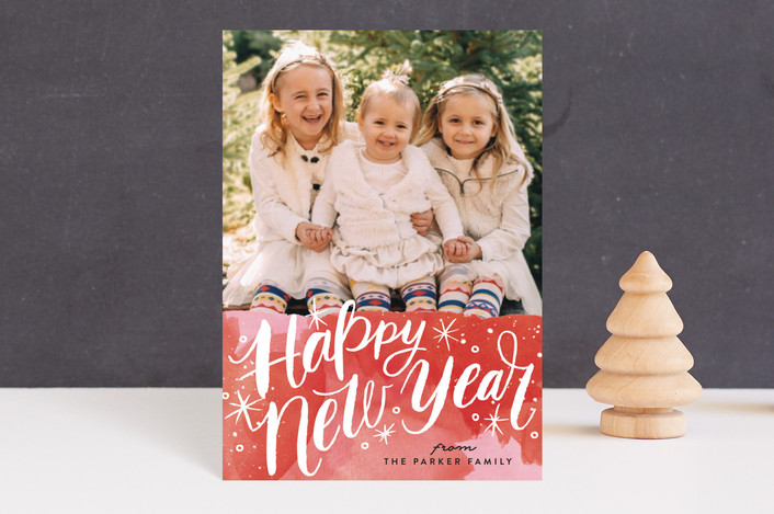 """Merry Christmas Magic"" - Holiday Petite Cards in Holly Red by Alethea and Ruth."