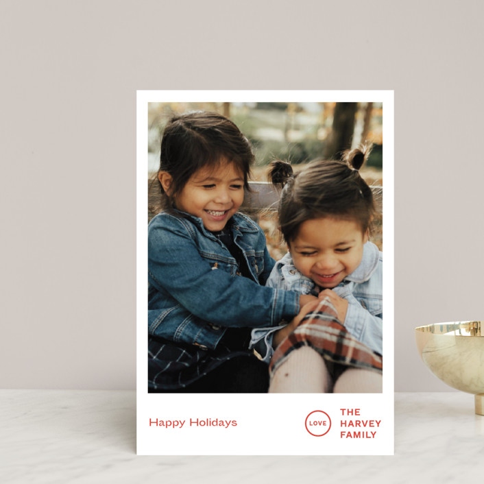 """""""Punched"""" - Holiday Petite Cards in Holly by Jack Knoebber."""