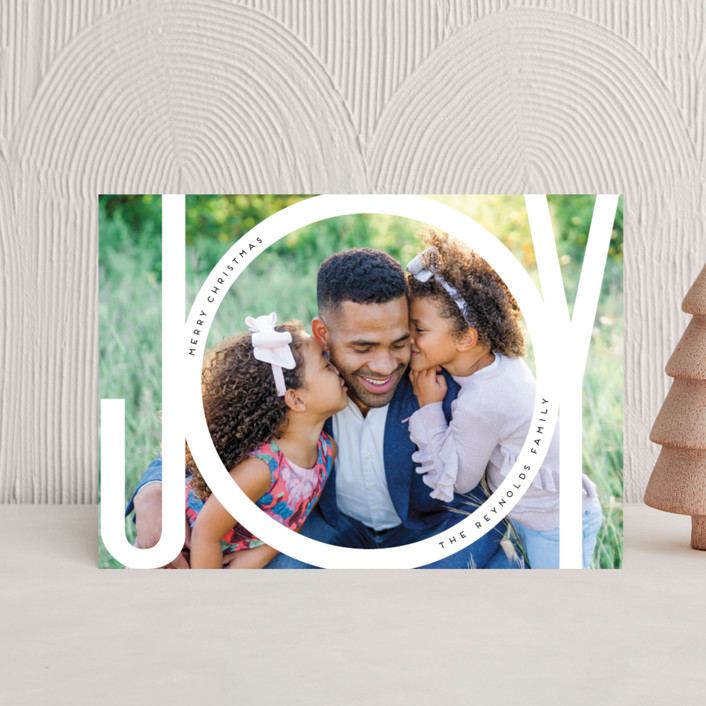 """""""Joy Bubble"""" - Holiday Petite Cards in Snow by Beth Murphy."""