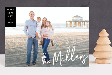 Family Signature Holiday Petite Cards