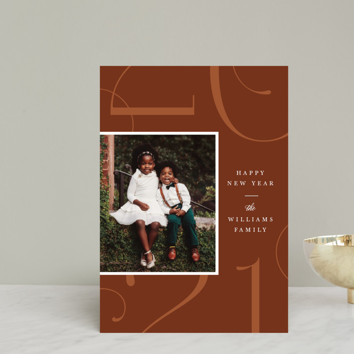 """""""Park Place"""" - Holiday Petite Cards in Toffee by Robert and Stella."""