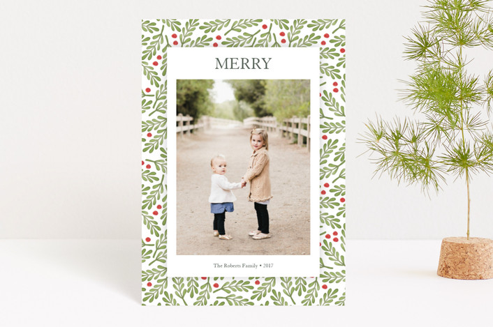 """""""Country Nostalgia"""" - Holiday Petite Cards in Evergreen by Lorent and Leif."""