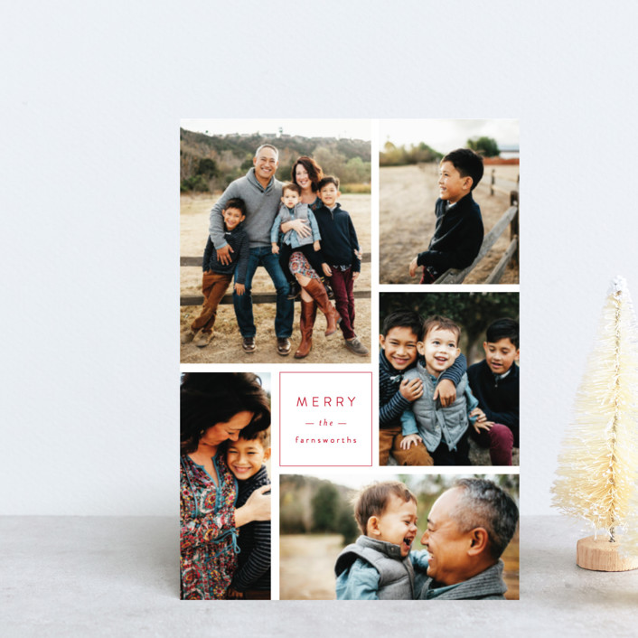 """Multi Fresh"" - Holiday Petite Cards in Apple by Michelle Poe."