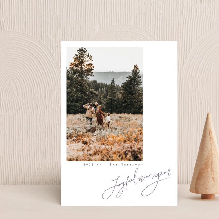 """""""In Pencil"""" - Holiday Petite Cards in Tinsel by Adelyn T.."""