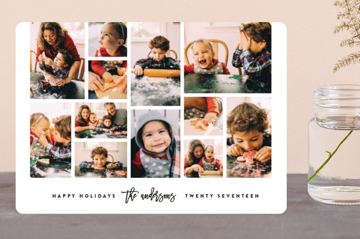 """""""Collage"""" - Holiday Petite Cards in Snow by roxy."""