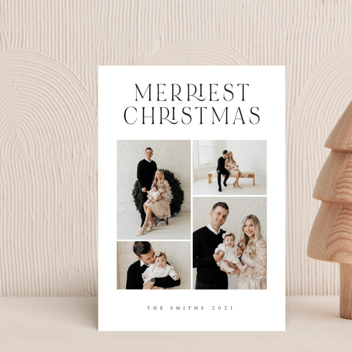 """""""Timeless Elegance"""" - Holiday Petite Cards in Snow by Grae."""