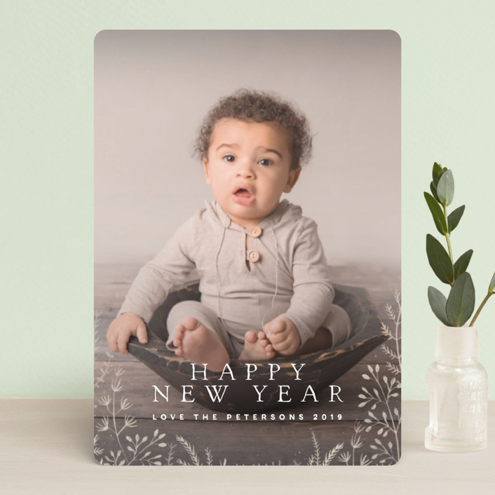 """""""Wild and Free"""" - Holiday Petite Cards in Wheat Fields by Design Lotus."""