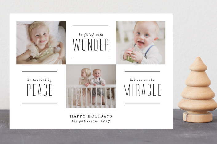 """The Miracle of Christmas"" - Holiday Petite Cards in Vanilla by Lehan Veenker."