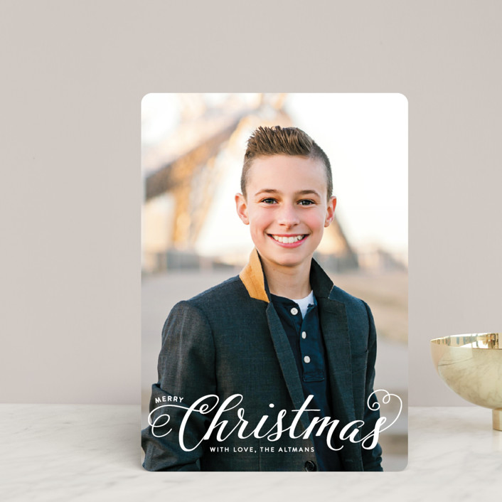 """""""Blessed Christmas"""" - Holiday Petite Cards in Snow by Ellis."""