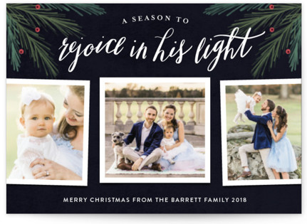 His Light Holiday Petite Cards