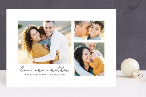 Love one another Holiday Petite Cards