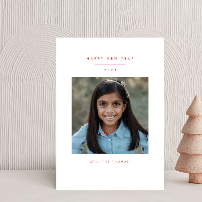 """""""Simple Beauty"""" - Holiday Petite Cards in Scarlet by Roopali."""