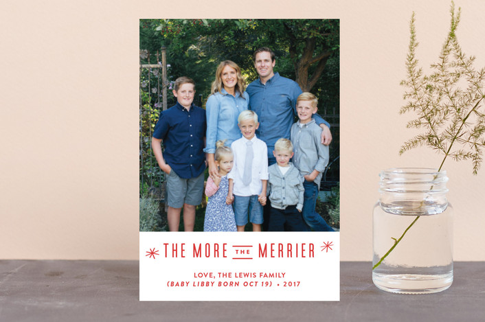 """The More, the Merrier"" - Holiday Petite Cards in Snowflake by Carolyn MacLaren."