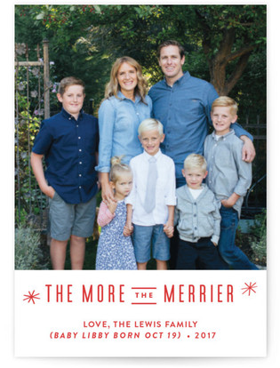 The More, the Merrier Holiday Petite Cards