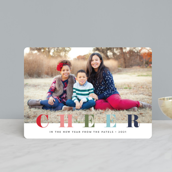 """""""multi merry"""" - Holiday Petite Cards in Raspberry by Stacey Meacham."""