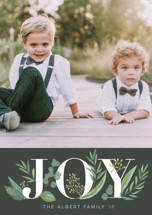 Greenery Holiday Petite Cards By Jessie Steury