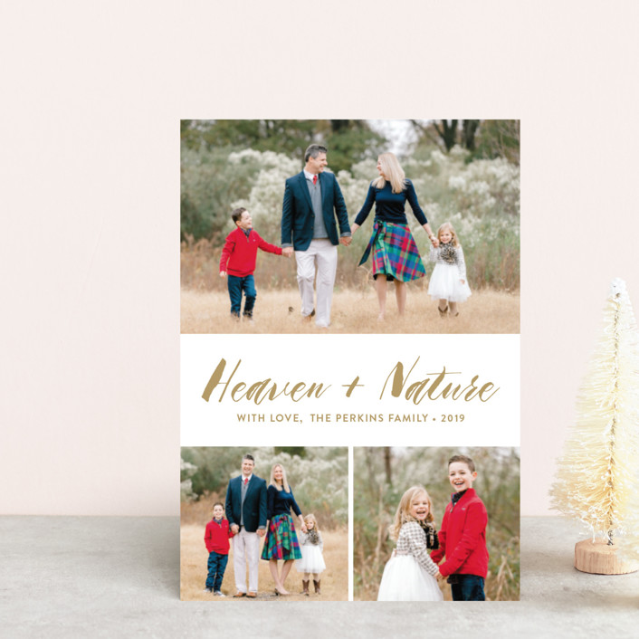 """""""Heaven&Nature"""" - Holiday Petite Cards in Medallion by Chasity Smith."""