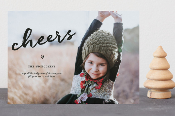 """""""Joy In Your Heart"""" - Holiday Petite Cards in Ebony by fatfatin."""