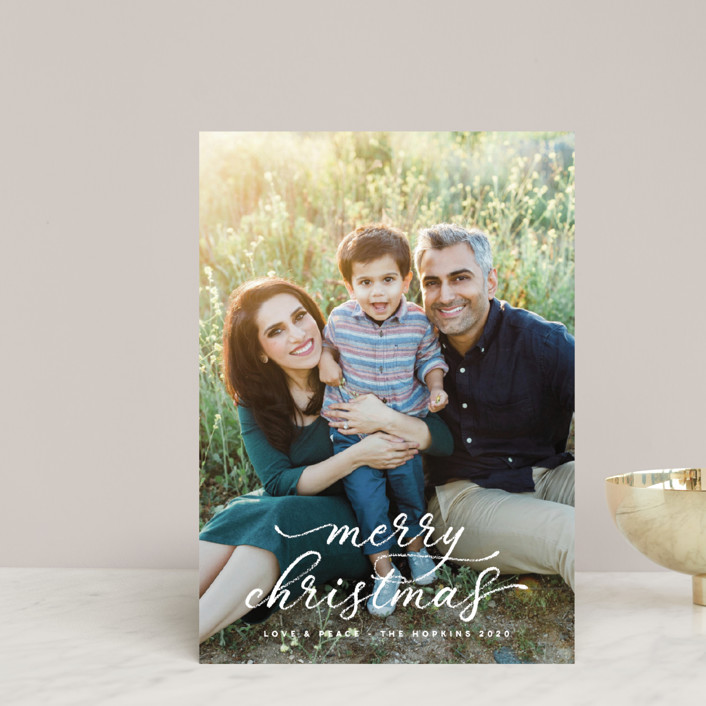 """""""fond memories"""" - Holiday Petite Cards in Snow by Design Lotus."""