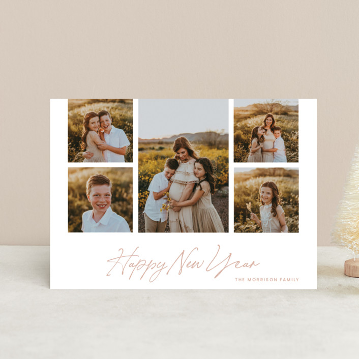 """""""New Year Frame"""" - Holiday Petite Cards in Bloom by Blustery August."""