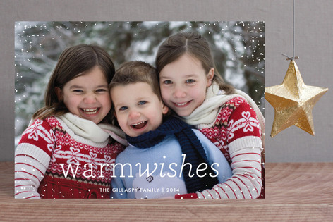 Snow Flurry Holiday Petite Cards