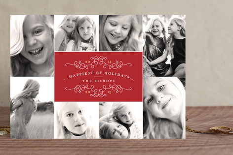 Classic Collage Holiday Petite Cards