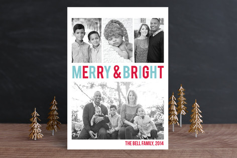 Merry & Bright Holiday Petite Cards