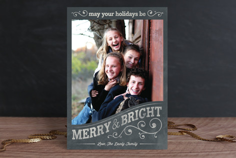 Vintage Frame Holiday Petite Cards