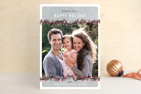 Canvas Garland Holiday Petite Cards