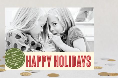 Retro Peace Holiday Petite Cards