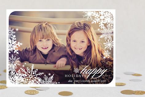 Snowflake Window Holiday Petite Cards