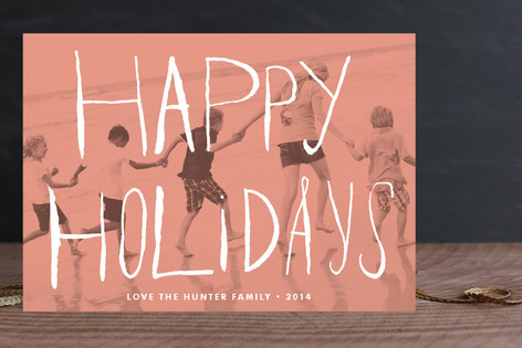 Peach Passion Holiday Petite Cards