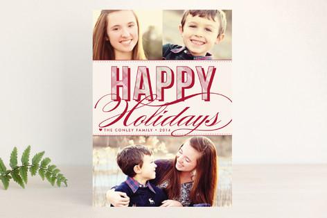Christmas Plaid Holiday Petite Cards