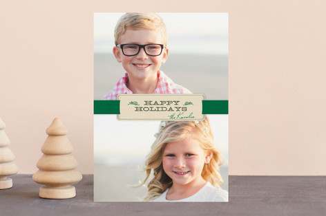 Christmas Ribbon Holiday Petite Cards