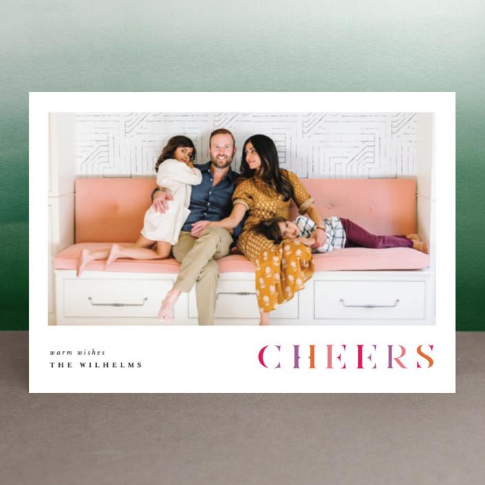 """Bresciana"" - Holiday Petite Cards in Burgundy by chocomocacino."