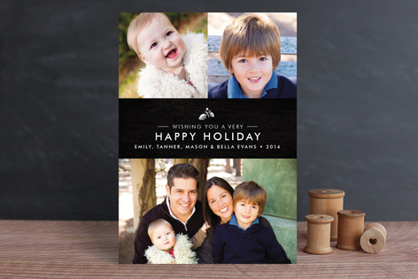 Splendid Pinecone Holiday Petite Cards