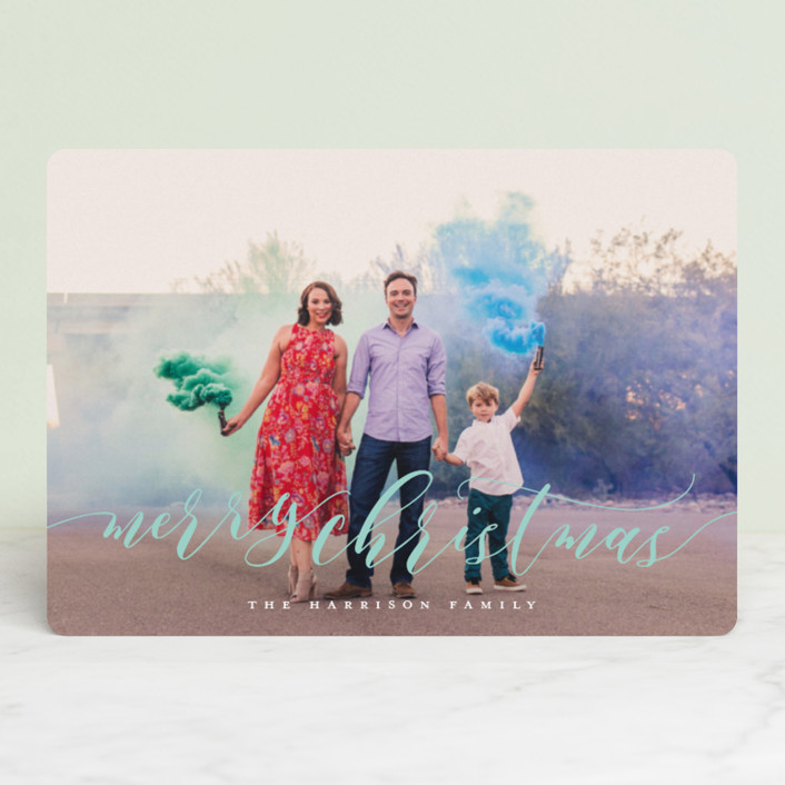 """""""Dreamy"""" - Holiday Petite Cards in Glacier by Jessica Williams."""