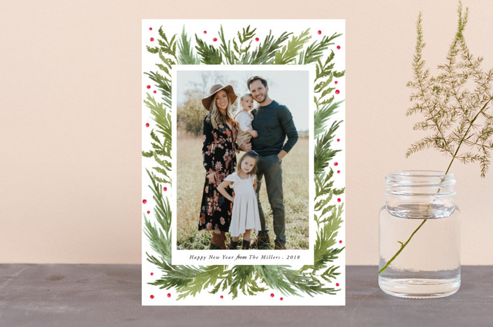 """Delight"" - Holiday Petite Cards in Moss by Elly."