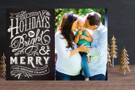 Bright and Chalky Holiday Petite Cards