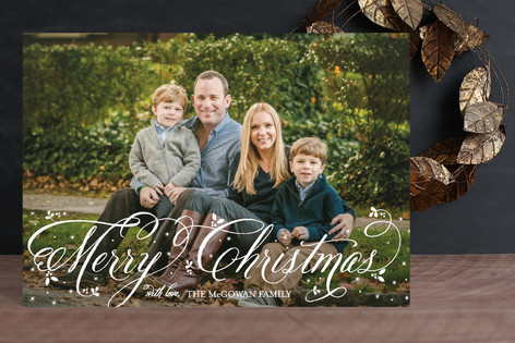 Twinkling Snow Holiday Petite Cards