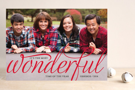 Wonderful Merry Holiday Petite Cards